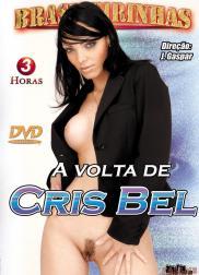 capa do filme a volta de cris bel 88 min Cris Bel   Atriz Pornô