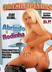 capa do filme abrindo a rodinha 28 min Agatha Meirelles   Atriz Porno