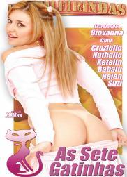 capa do filme as sete gatinhas 226 min Babalu   Atriz Pornô