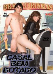 capa do filme casal bem dotado 177 min Larissa Mendes   Atriz Pornô
