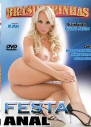 capa do filme festa anal 155 min Cinthia Santos   Atriz Pornô