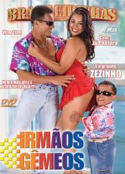 capa do filme irm os gemeos 59 min Ju Pantera   Atriz Pornô