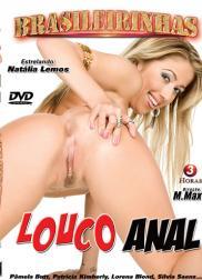 capa do filme louco anal 97 min Ju Pantera   Atriz Pornô