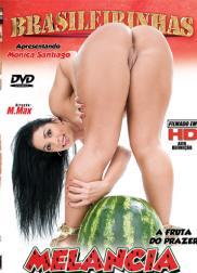 capa do filme melancia a fruta do prazer 116 min Fernanda Franklin   Atriz Pornô