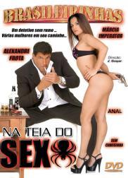 capa do filme na teia do sexo 62 min Marcia Imperator   Atriz Pornô