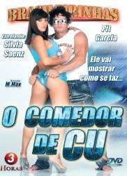 capa do filme o comedor de cu 178 min Ju Pantera   Atriz Pornô