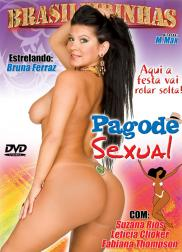 capa do filme pagode sexual 271 min Fabiane Thompson   Atriz Pornô