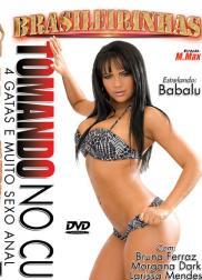 capa do filme tomando no cu 106 min Babalu   Atriz Pornô