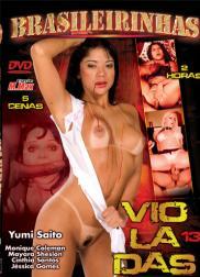 capa do filme violadas 50 min Cinthia Santos   Atriz Pornô