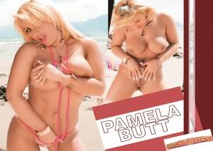 Loiraça Pamela Butt pelada na praia